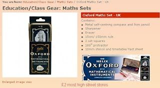 Oxford Maths Set UK
